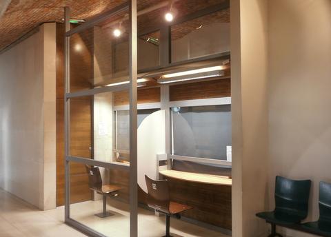 PREF 76 : Aménagement intérieur travaux achevés - Accueil