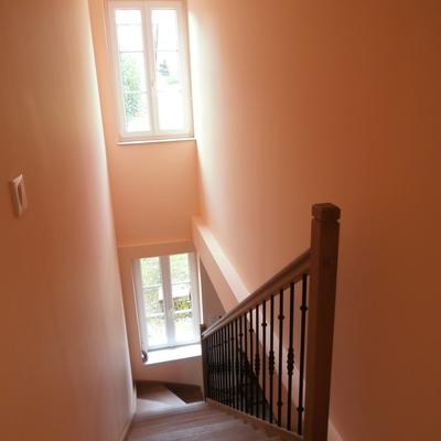 AV : Escalier travaux achevés