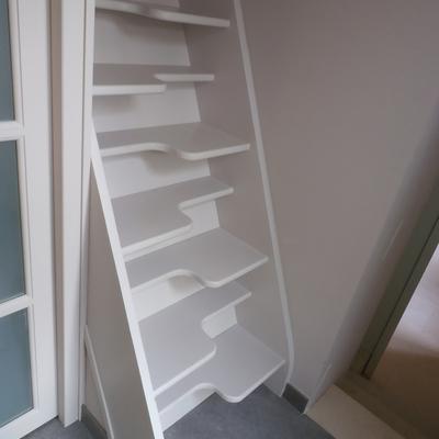 HC : Extension travaux achevés - Escalier