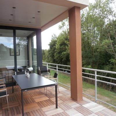MB : Maison neuve - Balcon terrasse