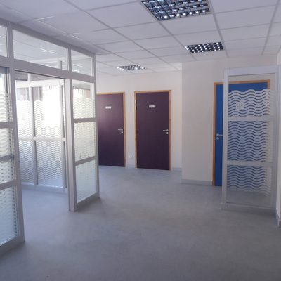 PLH : Aménagement intérieur : Accueil et bureau
