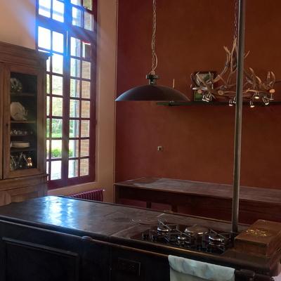Rénovation de la cuisine d'un château