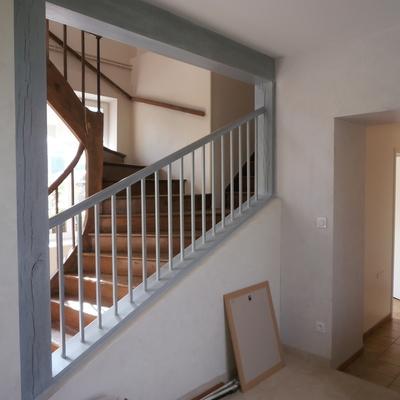 VV : Rénovation travaux achevés - Escalier